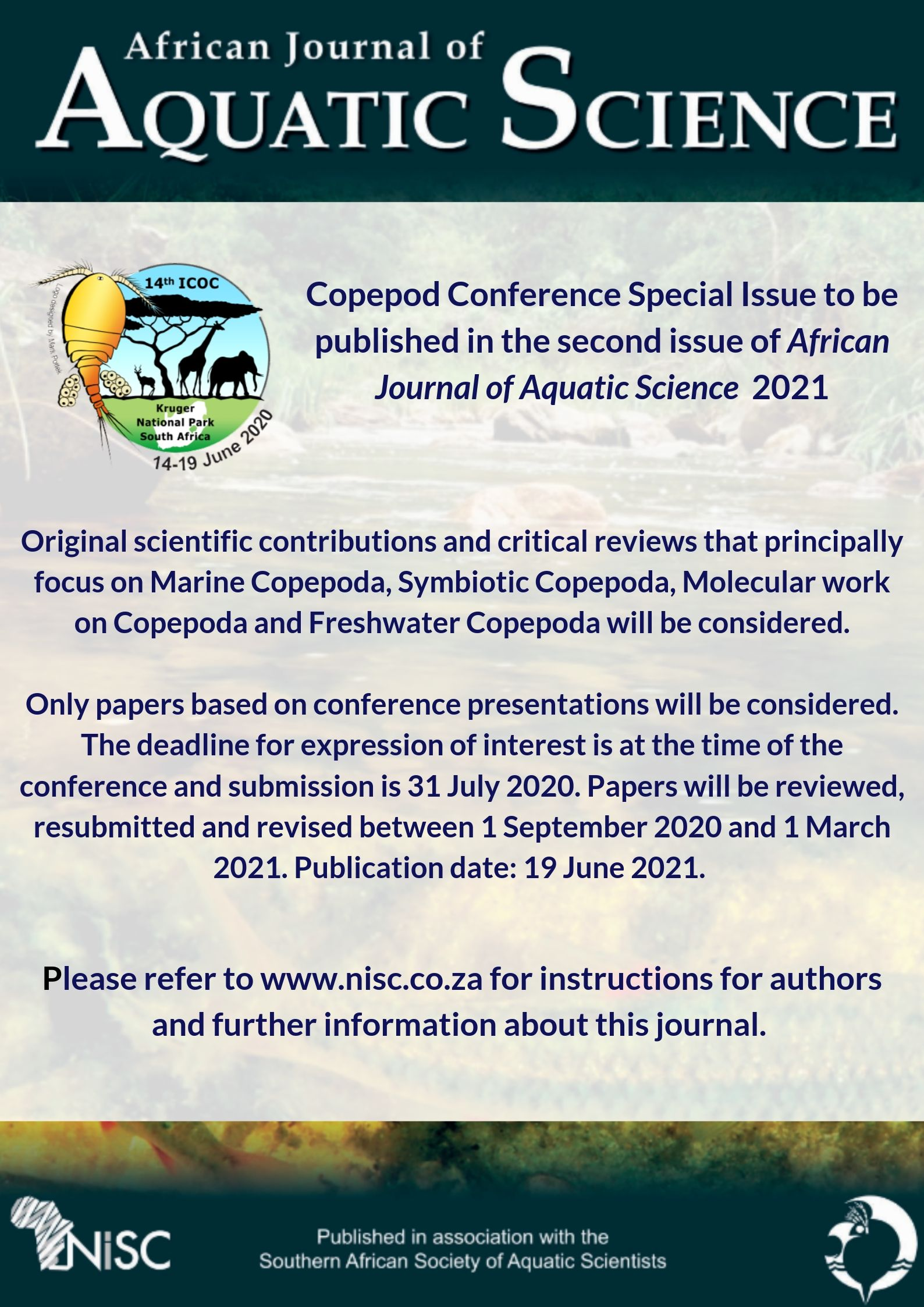 African Journal of Aquatic Science